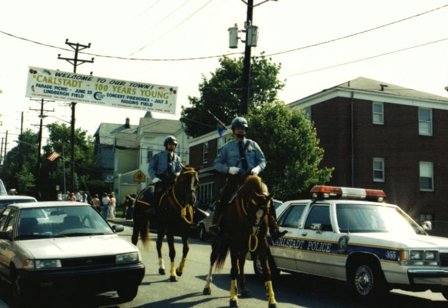 Carlstadt Police Historical Photo